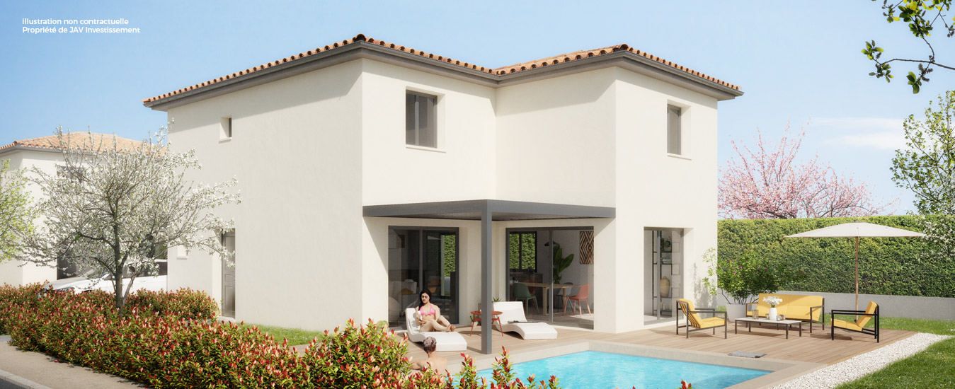 Les villas d'Anais à Heyrieux par JAV investissement
